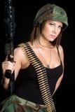 żołnierz piechoty morskiej fotografia stock