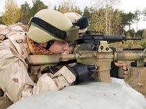 żołnierz piechoty morskiej my Zdjęcia Stock