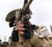 żołnierz piechoty morskiej my Zdjęcie Stock