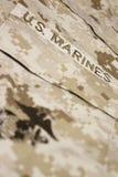 żołnierz piechoty morskiej s u Zdjęcie Royalty Free