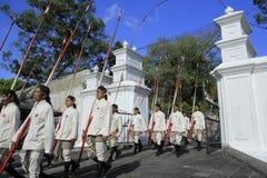 Żołnierza Yogyakarta pałac Zdjęcie Stock
