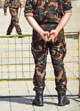 żołnierze Zdjęcie Royalty Free