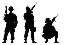 żołnierze Obraz Stock