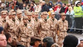 żołnierze Fotografia Royalty Free