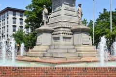 Żołnierze i żeglarzi Pomnikowi w Easton Pennsylwania fotografia stock