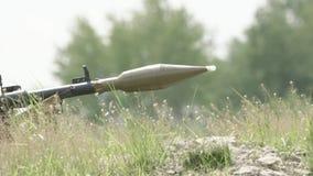 Żołnierzy krótkopędy z RPG7 zdjęcie wideo