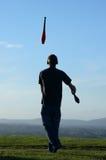 żonglerem fotografia stock