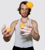 żonglerem zdjęcia royalty free