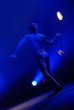 żonglerem przeciwpożarowe Obrazy Stock