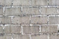 Żużlu bloku ściany tło Obraz Stock