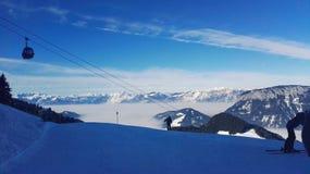 Żyć sen w alps obrazy royalty free