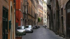 życie codzienne Rome, Italy, 4k zbiory wideo