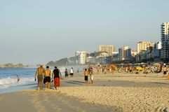 życie na plaży Zdjęcia Stock