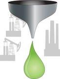 życiorys olej napędowy ilustracja wektor