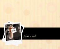Życzenia pojęcia tło Fotografia Stock