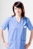 życzliwa pielęgniarka Zdjęcia Royalty Free