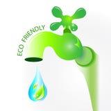Życzliwy Eco pojęcie Obraz Royalty Free