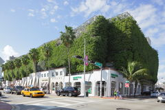 Życzliwy garaż Miami zdjęcia royalty free