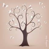 życzyć drzewny Obraz Stock