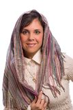 Żydowska kobieta, frontowy widok Zdjęcie Stock