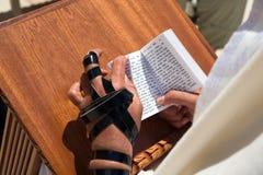 żydzi jerusalem modlić western ścianę Obrazy Royalty Free