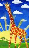 żyrafa zdjęcie stock