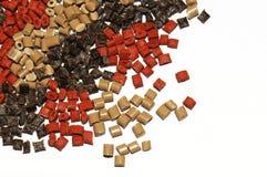 żywica polimeru czerwieni żywica Obrazy Stock
