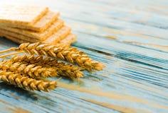 Żywienioniowy chleb robić od zboży fotografia stock