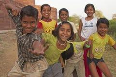 żywiołowi dzieci Zdjęcia Stock
