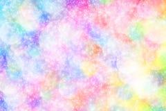 żywy bokeh w miękkim koloru stylu dla tła światło Obrazy Royalty Free