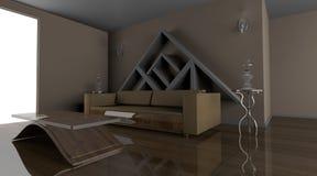 żywy izbowy mały Fotografia Stock