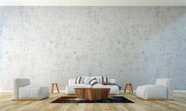 Żywy izbowy wewnętrzny panel i izolujemy tło Fotografia Stock