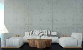 Żywy izbowy wewnętrzny panel i izolujemy tło teksturę Fotografia Stock
