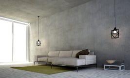 Żywy izbowy wewnętrzny projekt i Fotografia Stock