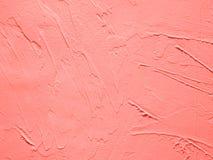 Żywy Koralowy dekoracyjny tynku skutek zdjęcie stock