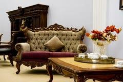 żywy luksusowy nowożytny pokój Fotografia Stock