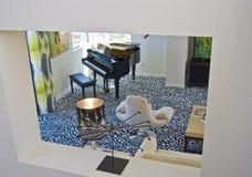 żywy mieszkaniowy pokój fotografia stock