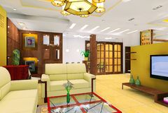żywy nowożytny pokój obrazy royalty free