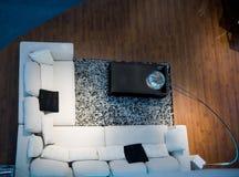 żywy nowożytny pokój Fotografia Royalty Free