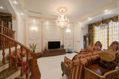 żywy pokój Zdjęcia Royalty Free