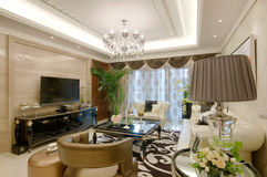 żywy pokój obraz royalty free
