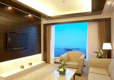 żywy pokój zdjęcie stock