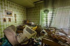 Żywy pokój i rzeczy w domu zdjęcie royalty free