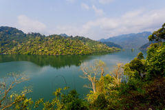 """? Ba Bá"""" See ist der größte natürliche See in Vietnam Stockfotografie"""