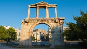 ˆHadley ¼ ` s Archï ¼ ‰ της Αθήνας cityscapeï Στοκ εικόνα με δικαίωμα ελεύθερης χρήσης