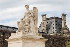 Άγαλμα αγγέλου στο θριαμβευτικό Arch Arc de Triomphe du ιπποδρόμιο σε Tuileries Το μνημείο χτίστηκε μεταξύ 1806 - 1808 Στοκ φωτογραφία με δικαίωμα ελεύθερης χρήσης
