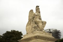 Άγαλμα αλληγορίας της νικηφορόρης Γαλλίας Carrousel Arc de Triomphe ή Arc de Triomphe du το ιπποδρόμιο Στοκ εικόνες με δικαίωμα ελεύθερης χρήσης