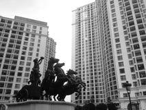 Άγαλμα αλόγων στη βασιλική πόλη στοκ φωτογραφία με δικαίωμα ελεύθερης χρήσης