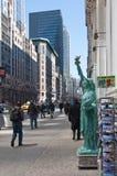 άγαλμα αντιγράφου ελευ& Στοκ εικόνες με δικαίωμα ελεύθερης χρήσης