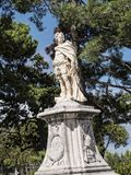 Άγαλμα από το παλαιό φρούριο στην πόλη της Κέρκυρας στο ελληνικό νησί της Κέρκυρας Στοκ Εικόνες